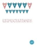 Math Journal Expectations