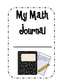 Math Journal Extras