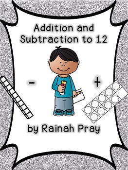 Math Journal Facts to 12 -Includes Practice with Multiple Strategies