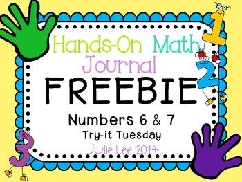 Math Journal Freebie