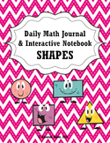Math Journal Interactive Notebook for Shapes