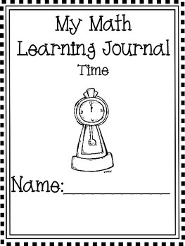 Math Journal Intro to Time