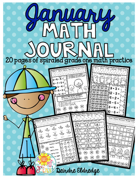 Math Journal January (Common Core Aligned)
