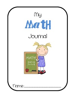 Math Journal Label