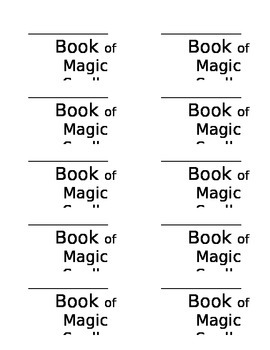 Math Journal Labels - Harry Potter/Mathemagician Theme
