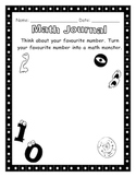 Math Journal - Math Monster