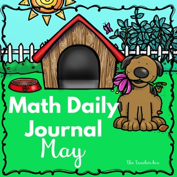 Kindergarten - Special Education -Math Daily Journal- May