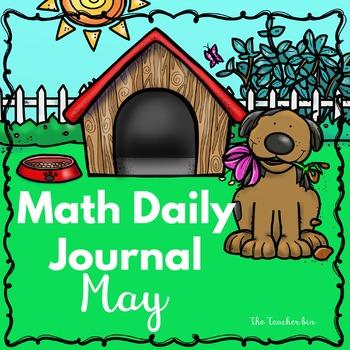 Kindergarten - Special Education -Math Journal May - NO PREP