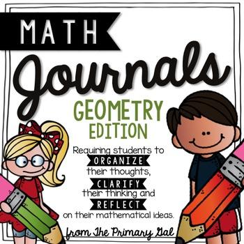 5th Grade Perimeter & Area Math Journal