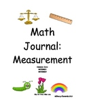 Spring Math Journal - Measurement