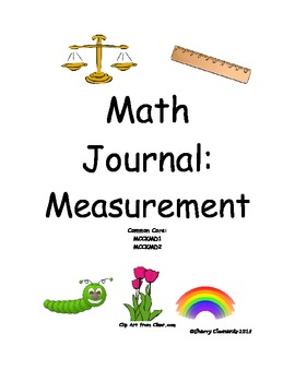 Spring Math Journal - Measurement