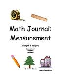 Math Journal: Measurement (length & height)