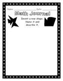 Math Journal - New Shape