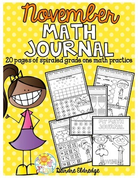 Math Journal November (Common Core Aligned)