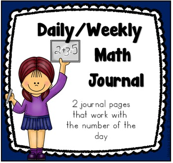Math Journal Page to Record Numbers In Various Forms