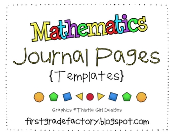 Math Journal Pages {Templates}