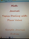 Math Journal: Place Value