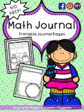 Math Journals: Calendar Time, Problem Solving NO PREP