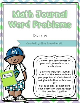 Math Journal Problems Division