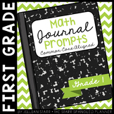 Math Journal Prompts {Aligned to the Common Core} Grade 1