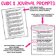 Distance Learning Math Journal Prompts (Common Core) Grade 3 | Digital & Paper