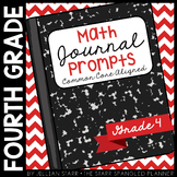 Math Journal Prompts {Aligned to the Common Core} Grade 4