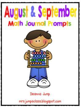 Math Journal Prompts BUNDLE
