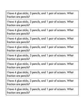 Math Journal Prompts: Back to School!