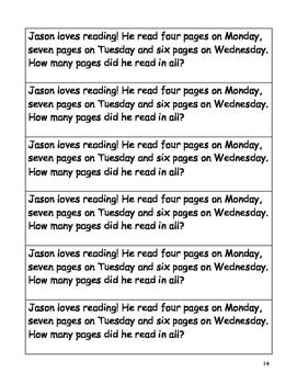 Math Journal Prompts-Grade 2
