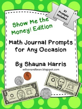 Math Journal Prompts Growing Bundle!
