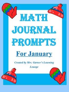 Math Journal Prompts- January