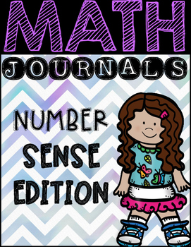 Math Journal Prompts: Number Sense Edition