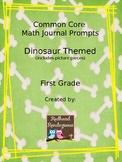 Math Journal Prompts - first grade