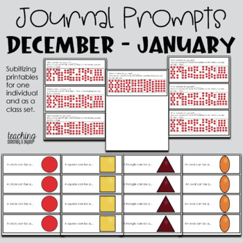 Math Journal Prompts for June and July
