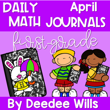 Math Journal Prompts for First-Grade | APRIL