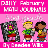 Math Journal Prompts for First-Grade | FEBRUARY
