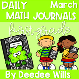 Math Journal Prompts for First-Grade | MARCH