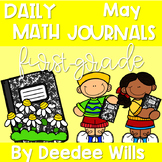 Math Journal Prompts for First-Grade | May