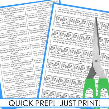 Math Journal Prompts for First-Grade | NOVEMBER