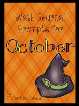 Math Journal Prompts for October