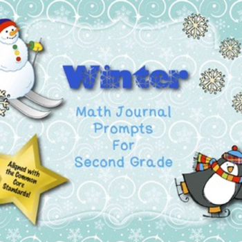 Math Journal Prompts for Second Grade Winter Version