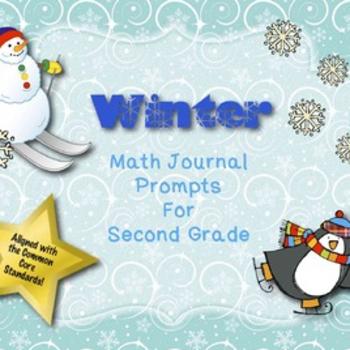 2nd Grade Math Journal Prompts Winter | Math Journal Prompts 2nd Grade