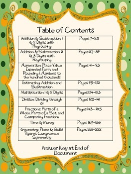Math Journal Prompts for Third Grade