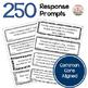 Math Journal Response Prompt BUNDLE - Common Core Aligned Grade 5