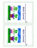 Math Journal Sticker/Cover