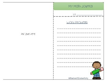 Math Journal Template