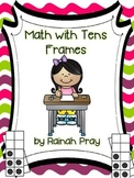 Math Journal Ten-Frame Made Includes Practice with Multipl