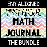 First Grade Math Journal through the Year Bundle