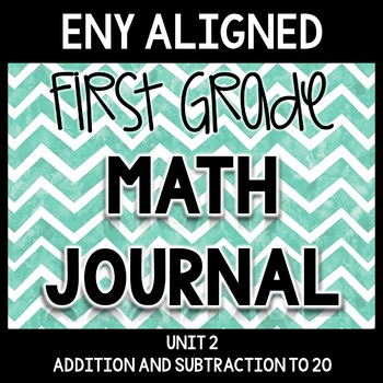 Math Journal Unit 2: Addition and Subtraction to 20