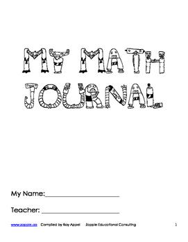 Math Journal Writing Ideas